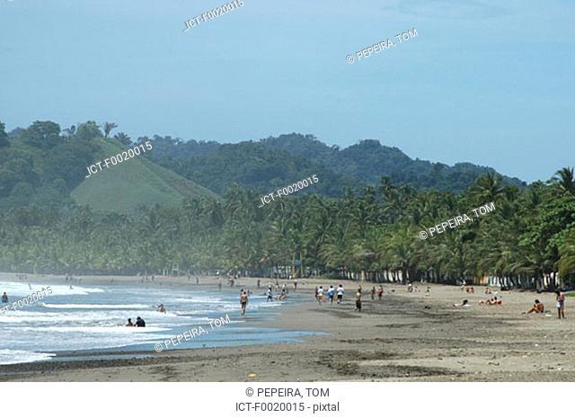Costa Rica, Pacific coast landscape