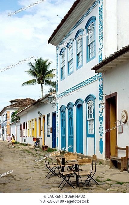 People, couple, Historical Center, City, Paraty, Brazil