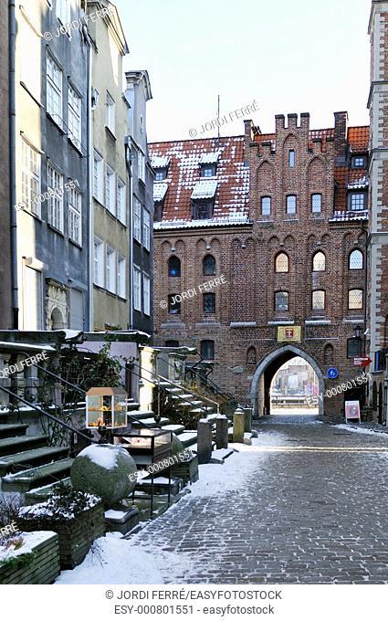 St Mary's Street, Gdansk, Pomeranian, Poland, Europe