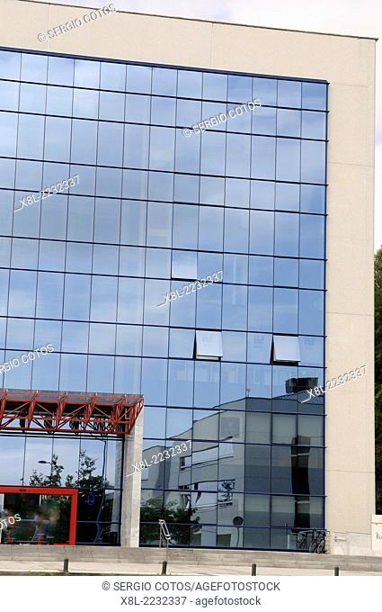 Office building in the Zuatzu  business park, Donostia, Basque Country, Spain