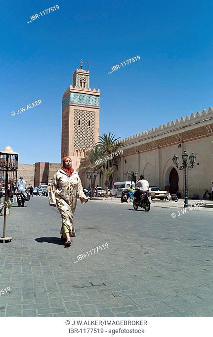 Kasbah, Saadian Tombs, cemetery in Marrakech, Morocco, Africa