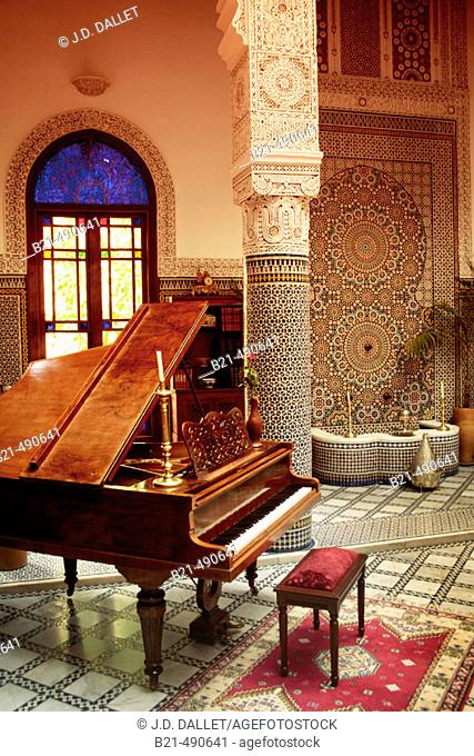 Patio of the Riad Fes. Morocco