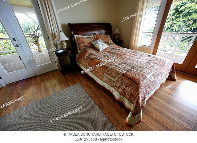 Lilikoi Room, Lilikoi Inn, Holualoa, Big Island, Hawaii, USA