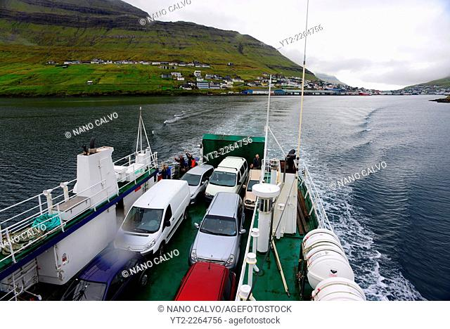 Sam, ferry from Klaksvík to Syðradalur (Kalsoy)