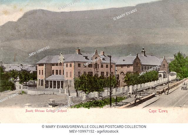South African College School - Cape Town (note Table Mountain in the background)