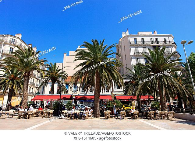 The city of Toulon, Place de la Liberté, Var, Provence, Provence-Alpes-Côte d'Azur, France, Europe