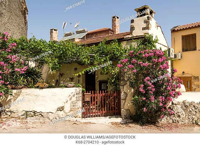 Village of Vamos in Chania prefecture, Crete, Greece