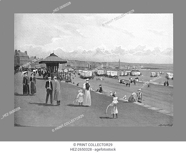 Weymouth seafront, c1900. Artist: Wheeler and Co