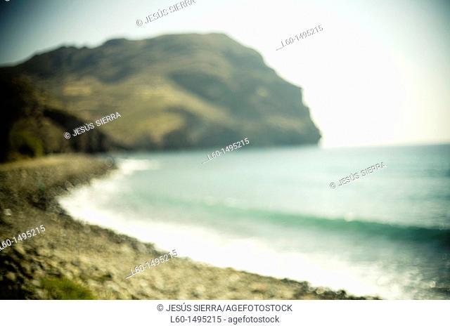 Beach Las Negras, Cabo de Gata, Almeria, Spain