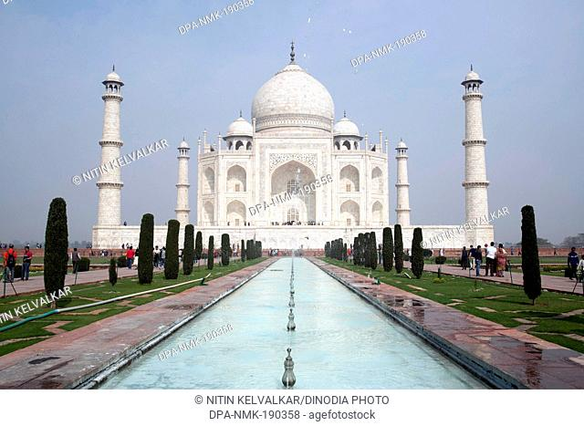 Taj Mahal Agra Uttar Pradesh India Asia