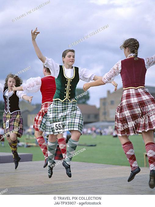 Highland Games / Highland Dancing, Highlands, Scotland