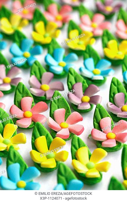 Edible flowers for pastries