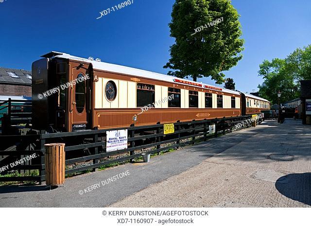 England Kent Tenterden Station Pullman Carriage 'Barbara'