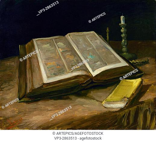Vincent van Gogh - Still life with Bible - Van Gogh Museum, Amsterdam