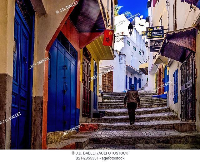 "Morocco-Tangier- inside the """"Medina"""""