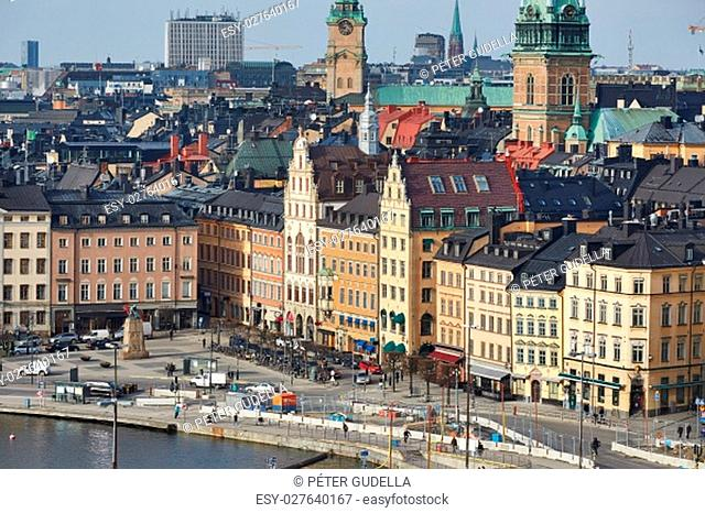 The old town of Stockholm, Sweden