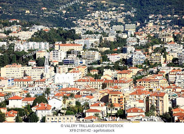 Nice, North district, Alpes-Maritimes, French Riviera, Côte d'Azur, Provence-Alpes-Côte d'Azur, France