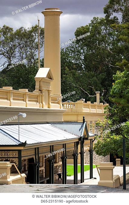 Australia, South Australia, Barossa Valley, Seppeltsfield, Seppeltsfield Winery, exterior