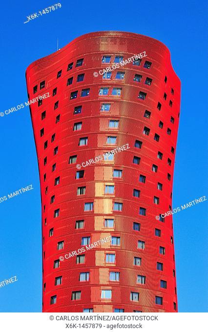 Hotel Porta Fira by Toyo Ito, L'Hospitalet de Llobregat, Barcelona province, Catalonia, Spain