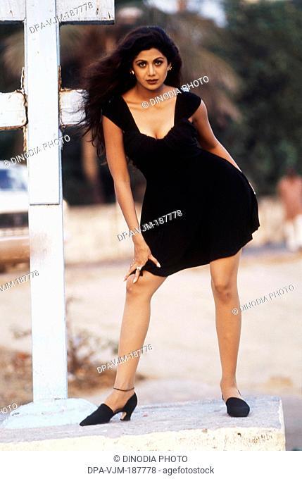 2000, Portrait Of Indian film actress Shilpa Shetty