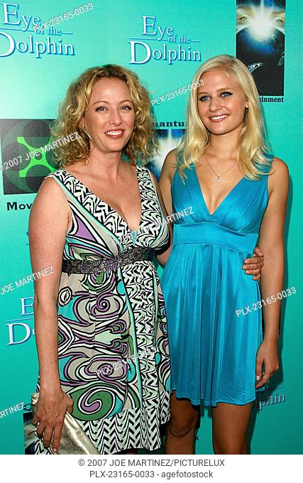 Eye of the Dolphin (Premiere) Virginia Madsen, Carly Schroeder 8-21-2007 / ArcLight Cinemas / Hollywood, CA / Monterey Media / Photo by Joe Martinez