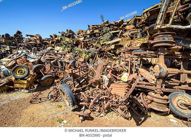 Tank cemetery, Asmara, Eritrea