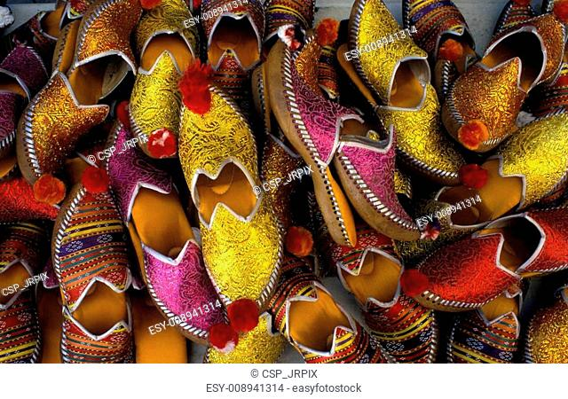 5b1e118da Oriental slipper shop Stock Photos and Images | age fotostock