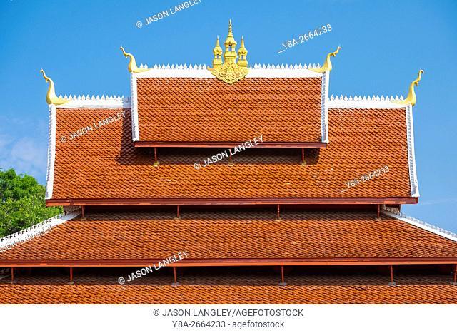 Wat Mai Suwannaphumaham buddhist temple, Luang Prabang, Louangphabang Province, Laos