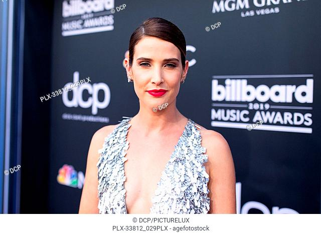 Cobie Smulders at the 2019 Billboard Music Awards held at MGM Grand Garden Arena on May 1, 2019 in Las Vegas, Nevada. Photo Credit: DCP / PictureLux - All...