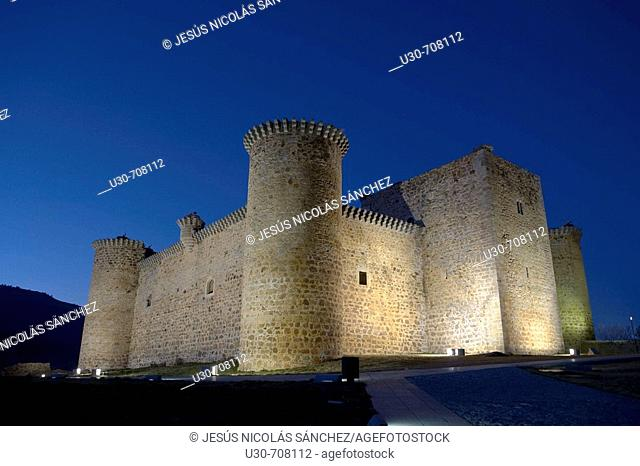 Valdecorneja castle, Barco de Ávila, Sierra de Gredos Regional Park , Ávila provincie, Castilla-León, Spain