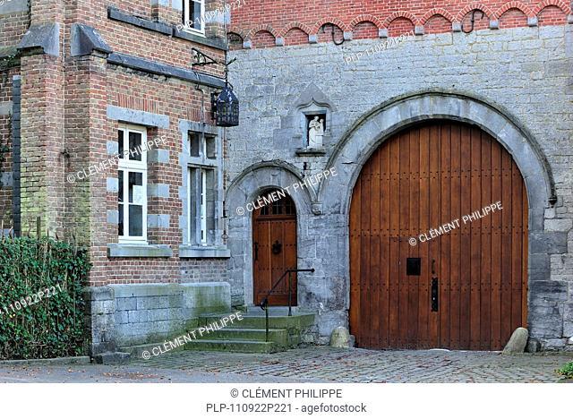 The Trappist Abbey of Rochefort / Abbey of Notre-Dame de Saint-Rémy, Ardennes, Belgium
