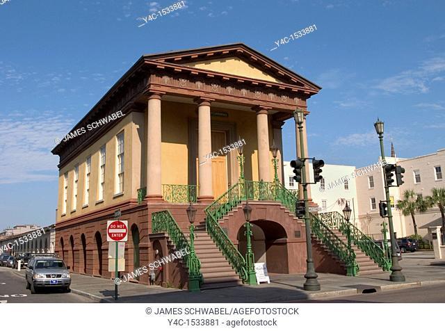 Confederate Museum and Public Market, Meeting Street, Charleston, South Carolina