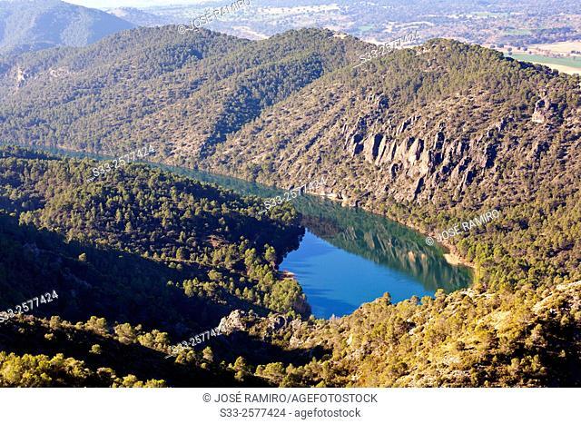 Bolarque reservoir. Guadalajara. Castilla la Mancha. Spain. Europe