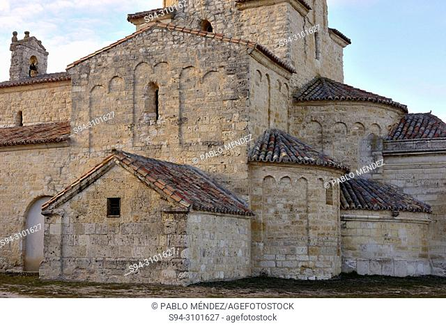 Church of Our Lady of La Anunciada, near Urueña, Valladolid, Spain