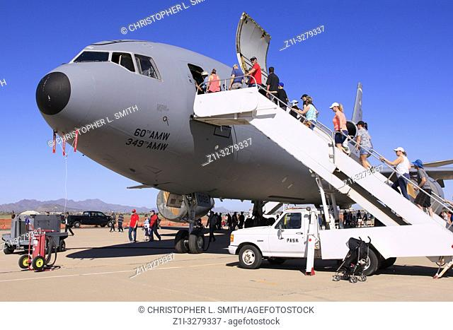 McDonnel Duglas KC-10 Troop transport of the 521st Air Mobility Command at davis-Monthan AFB in Tucson AZ