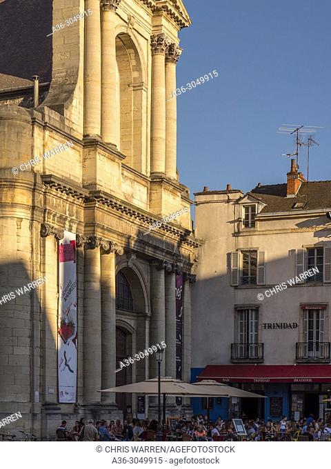 Place du Theatre Dijon Cote-d'Or Bourgogne-Franche-Comte France
