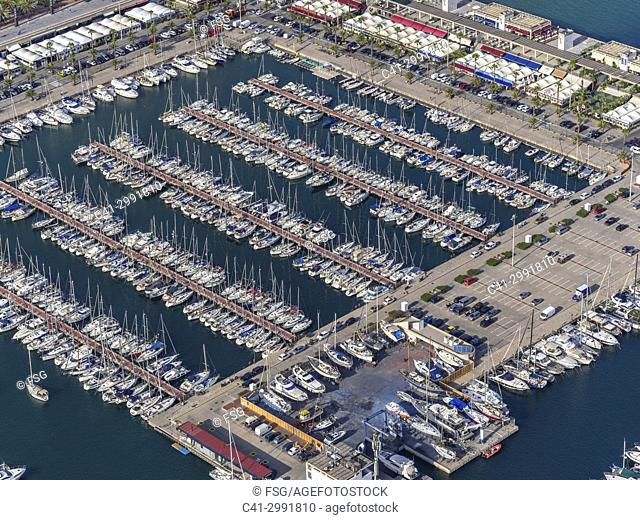 Port Olimpic. Barcvelona, Spain