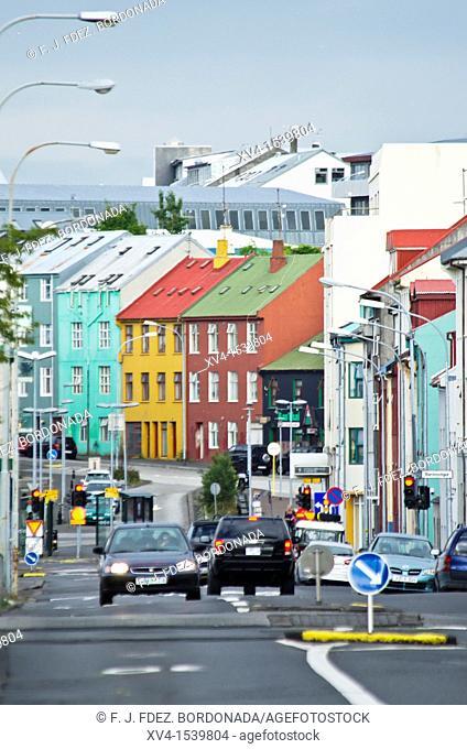 Reykjavik city, Iceland