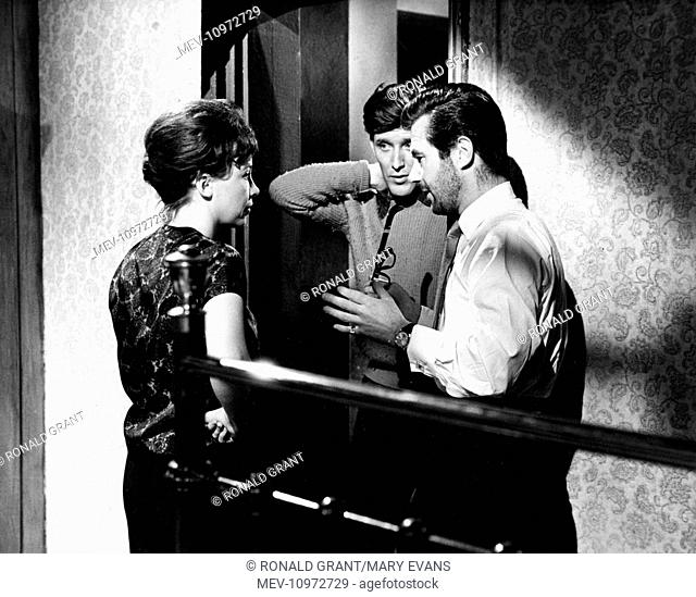 THE L-SHAPED ROOM [BR 1962] LESLIE CARON, TOM BELL, Director BRYAN FORBES