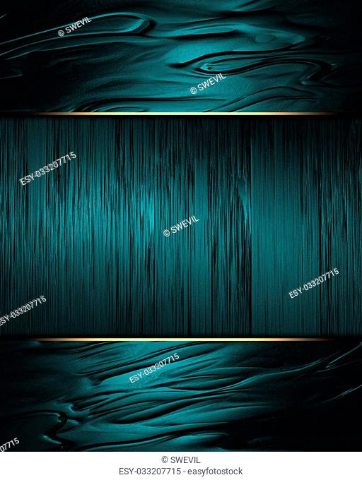 Design template. abstract blue background with a sign isolated on a white background