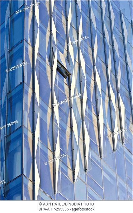 building facade, manhattan, new york, usa