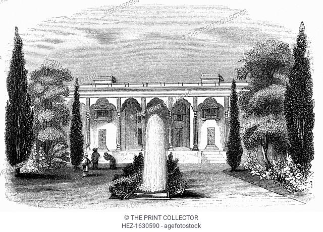 'The Lall Bang', 1847. The Lal Bagh gardens at Bangalore in India was commissioned by Hyder Ali and completed by his son, Tipu Sultan (1749-1799)