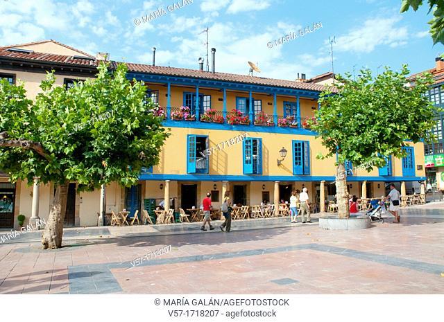 El Fontan. Oviedo, Asturias, Spain