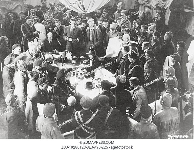 RELEASE DATE: January 20, 1928  MOVIE TITLE: Oktyabr  STUDIO: Sovkino  PLOT: In documentary style, events in Petrograd are re-enacted from the end of the...