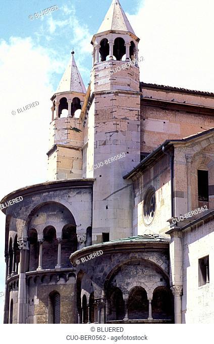 Cathedral, Modena, Emilia-Romagna, Italy