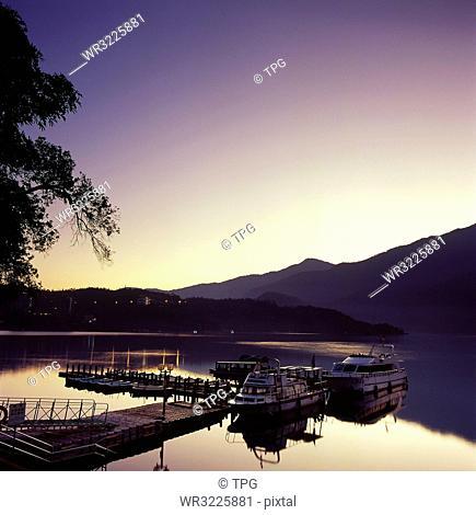Sun Moon Lake ;Chaowu Wharf