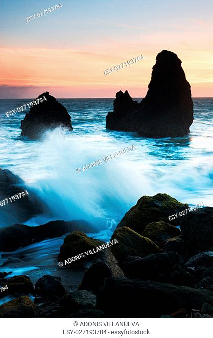 Rodeo Beach is a beach in the Golden Gate National Recreation Area located in Marin County, California, two miles north of the Golden Gate Bridge