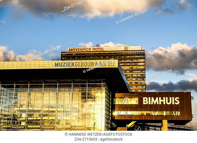 Bimhuis music venue in Amsterdam, the Netherlands, Europe