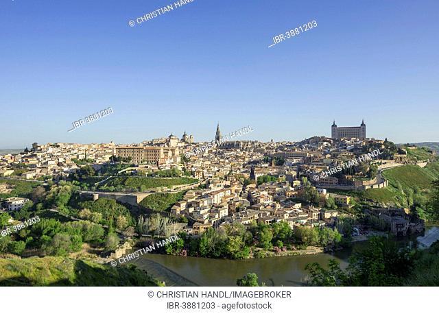 View of Toledo, Castilla-La Mancha, Spain