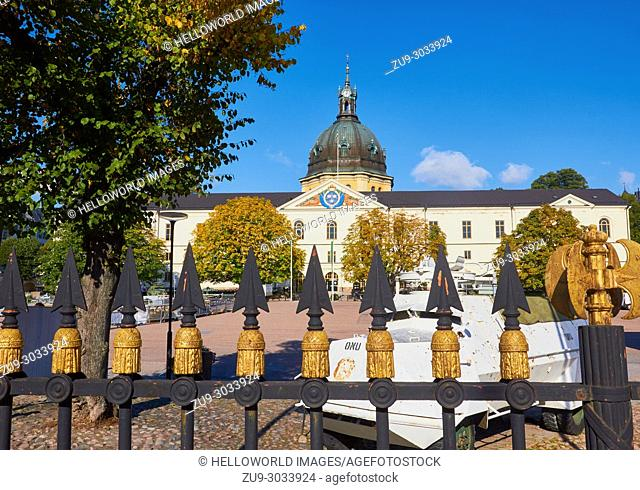 Swedish Army Museum (Armemuseum), Ostermalm, Stockholm, Sweden, Scandinavia. . Museum of miltary history